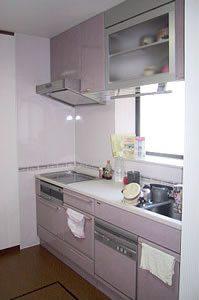 加熱機器・水回り部分には、 キッチンパネルでお掃除ラクラク