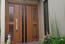 玄関ドアリフォームAfter