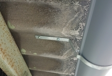 雨樋を新しく。