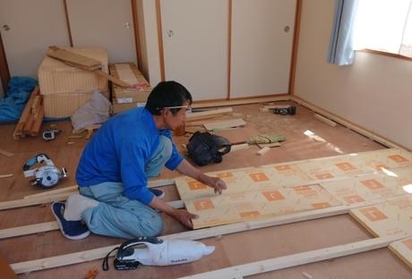 畳 → フローリング に リフォームAfter