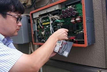 太陽光発電システム修理After