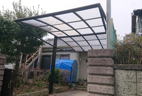 カーポート屋根修理After