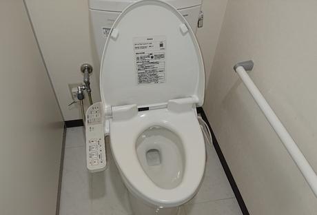 トイレのメンテナンスAfter