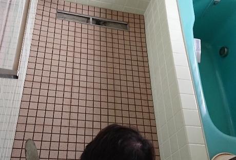 浴室土間タイル貼りリフォームAfter