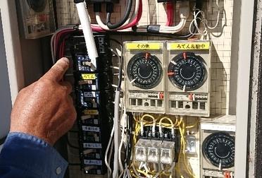 電気メンテナンス(漏電修理)Before