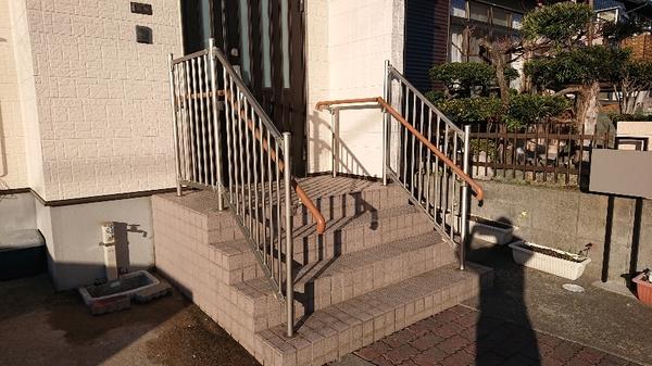 玄関廻りの整備