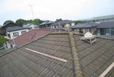 屋根をピカリBefore