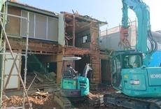 建物解体撤去