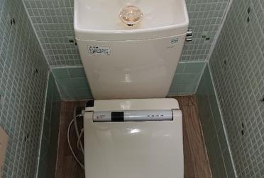 トイレ便器リフォームBefore