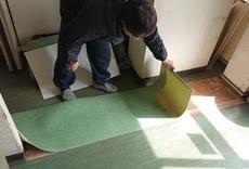 内装(床の補修)