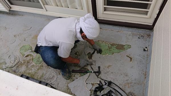 梅雨の合間に雨漏り修理