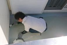 ベランダ防水修理(雨漏り修理)