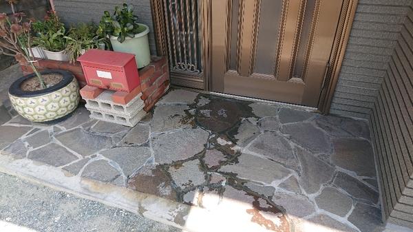 違うルートで漏水修理