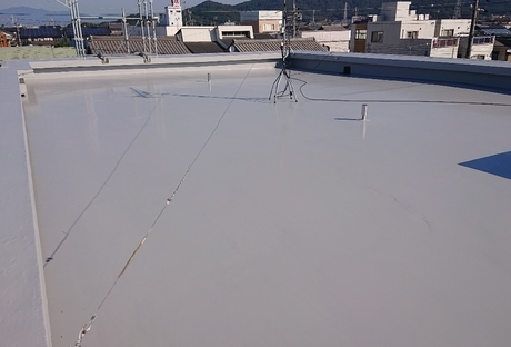 雨漏り修理(屋上防水工事)After