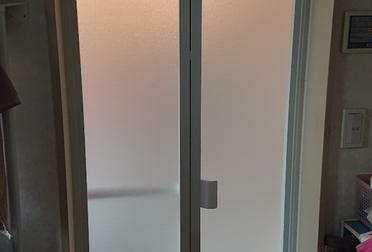 浴室(ユニットバス)の入り口扉リフォームAfter