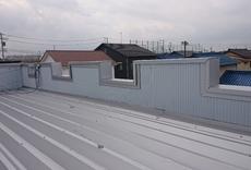 大屋根吹き替え(カバー工法)