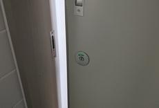 トイレの鍵取付