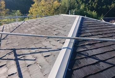 屋根葺き替え工事Before