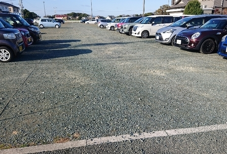 駐車場整備After