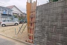 擁壁補強工事