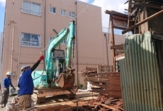 家屋解体工事
